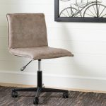 Antique Light Brown Mid-Back Office Chair – Munich