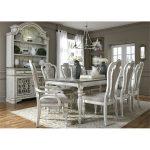 Antique White 5-Piece Dining Set – Magnolia Manor