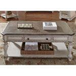Antique White Coffee Table – Magnolia Manor