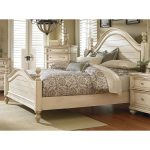 Antique White King Size Bed – Heritage