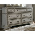 Antique White Traditional Dresser – Magnolia Manor