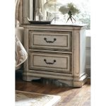 Antique White Traditional Nightstand – Magnolia Manor