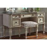 Antique White Traditional Vanity Desk – Magnolia Manor