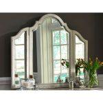 Antique White Traditional Vanity Mirror – Magnolia Manor
