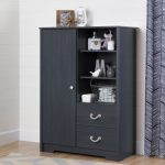 Armoire with Drawers in Blueberry – Aviron