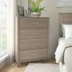 Ash Gray 4-Drawer Chest – Somerset
