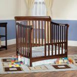 Ashton Child Craft Select Cherry Toddler Guard Rail for Mini Crib