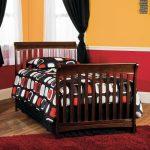 Ashton Child Craft Select Cherry Twin Bed Rails