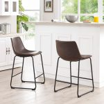 Aviator Brown Counter Stool