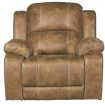 Badlands Saddle Brown Rocker Recliner – Charlotte