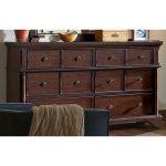 Bancroft Java Brown Traditional Dresser