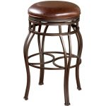 Bella Pepper/Bourbon Backless Barstool