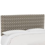 Bella Porte Brindle Brown Upholstered Twin Headboard