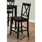 Black 24 Inch Counter Stool – Cape Hope