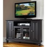 Black 48 Inch Corner TV Stand – Cambridge