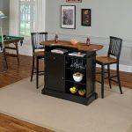 Black Bar & Two Barstools – Americana