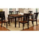 Black & Cherry 5-Piece Dining Set – Dover