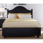 Black Classic Contemporary Queen Size Bed – Diego