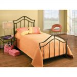 Black Classic Metal Twin Bed – Imperial