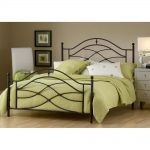 Black Classic Twin Metal Bed – Cole