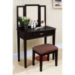 Black Contemporary Vanity Set