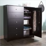 Black Door Chest with 5 Drawers – Vito