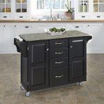 Black/Gray Kitchen Create-A-Cart