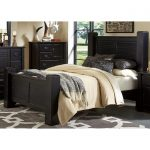 Black King Size Bed – Trestlewood