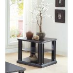 Black Modern End Table – Kingston