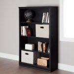 Black Oak 4 Shelf Bookcase – Morgan