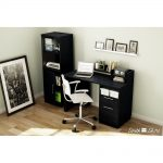 Black Oak Secretary Desk – Academic