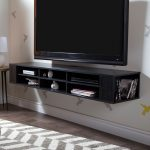Black Oak Wall-Mounted Media Console (66 Inch) – City Life