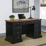 Black Pedestal Desk – Americana