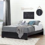 Black Queen Platform Bed (60 Inch) – Reevo