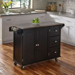 Black Stainless Top Kitchen Cart – Liberty