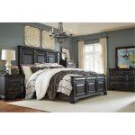 Black Traditional 6-Piece Queen Bedroom Set – Passages