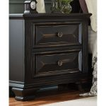 Black Traditional Nightstand – Passages
