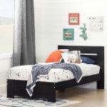 Black Twin Bed (39 Inch) – Reevo
