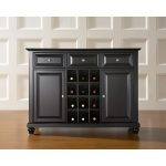 Black Wine Buffet Server – Cambridge
