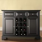 Black Wine Buffet Server – LaFayette