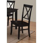 Black X-Back Dining Chair – Cape Hope Collection