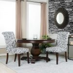 Black and White Tufted Parsons Chairs (Set of 2) – Berkley