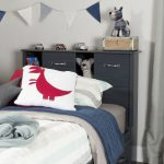 Blueberry Twin Bookcase Headboard – Ulysses