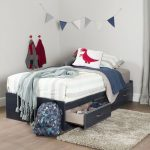 Blueberry Twin Mates Storage Bed – Ulysses