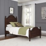 Bourbon Brown Classic Twin Bed – Country Comfort
