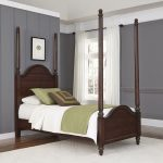 Bourbon Brown Twin Poster Bed – Country Comfort