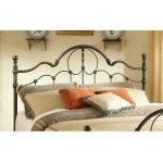 Bronze Full-Queen Metal Headboard – Venetian