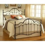 Bronze King Metal Bed – Venetian