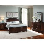 Brown 6-Piece King Bedroom Set – Avalon