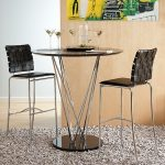 Brown Bar Stools (Set of 2) – Carina